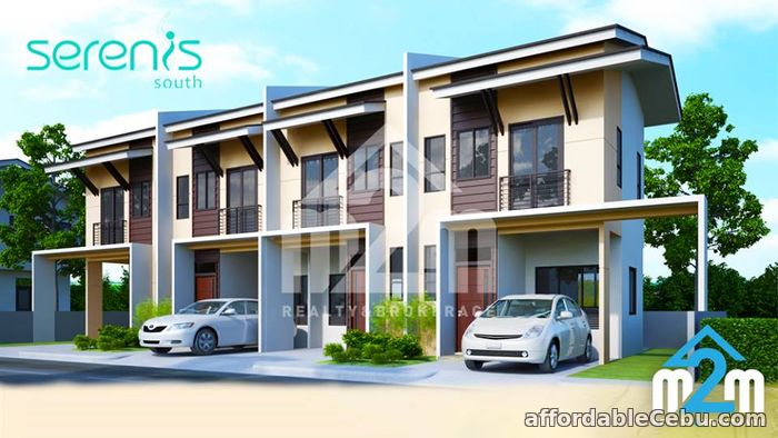 1st picture of Serenis South(TOWNHOUSE UNIT) Pooc, Talisay City, Cebu For Sale in Cebu, Philippines