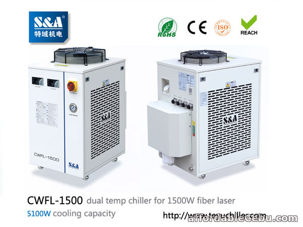 1st picture of S&A water chiller CWFL-1500 for cooling 1500W metal fiber laser machine For Sale in Cebu, Philippines