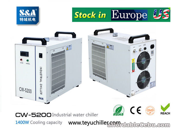 1st picture of S&A CW-5200 water cooled chiller for cooling UVLED exposure machine For Sale in Cebu, Philippines