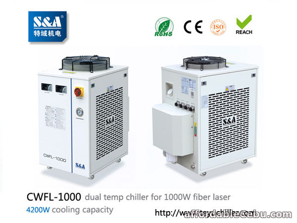 1st picture of S&A chiller CWFL-1000 for cooling 1000W fiber laser cutting & engraving machine For Sale in Cebu, Philippines