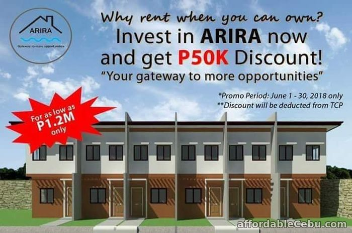1st picture of TOWNHOUSE PRE-SELLING  NO INTEREST 7 YEARS TO PAY!PROMO 50K DISCOUNT START JUNE 1-30 For Sale in Cebu, Philippines