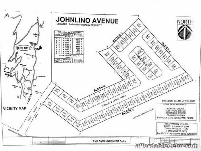 2nd picture of P6,917 a month own a subd lot in Cebu City For Sale in Cebu, Philippines