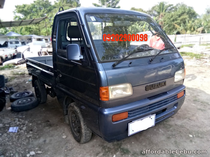5th picture of surplus suzuki multicab pick up 4x4 For Sale or Swap in Cebu, Philippines