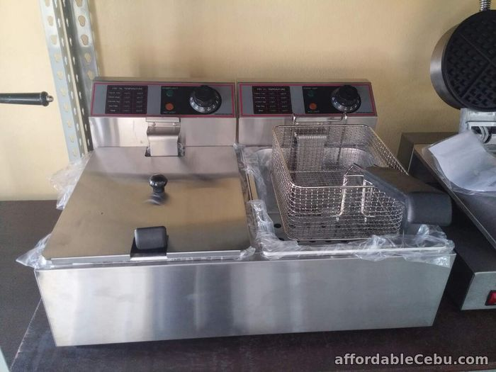 1st picture of Electric Deep Fryer (DOUBLE) For Sale in Cebu, Philippines