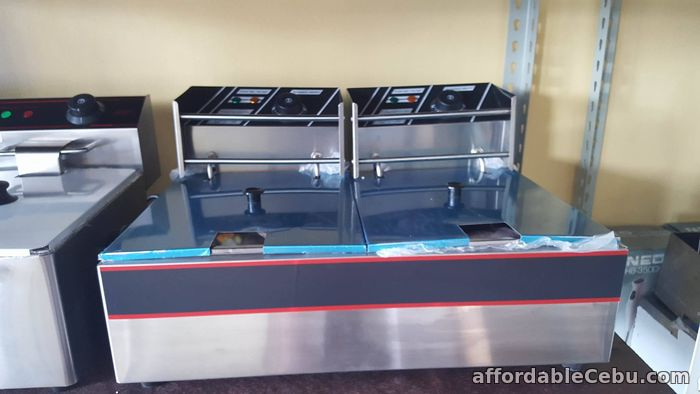 2nd picture of Electric Deep Fryer (DOUBLE) For Sale in Cebu, Philippines