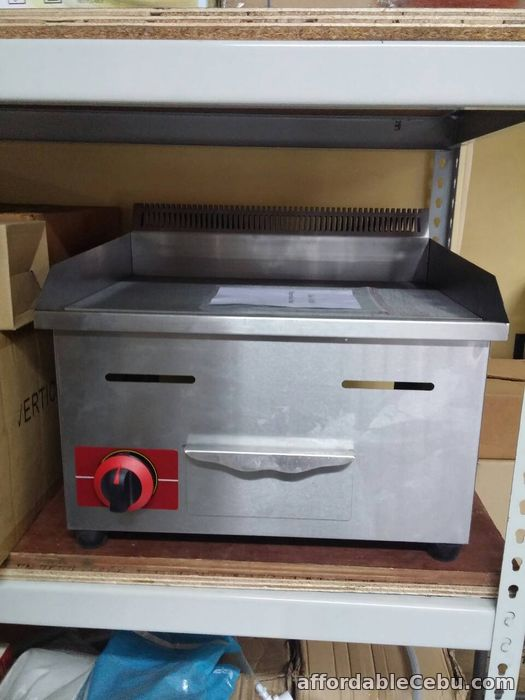 1st picture of Gas Griddle (1 Burner) For Sale in Cebu, Philippines
