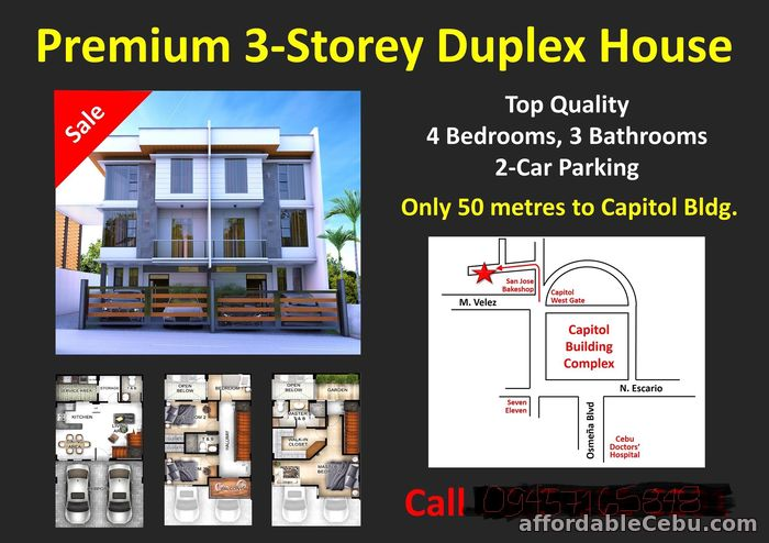 5th picture of Brand new House and lot for sale near Capitol Cebu For Sale in Cebu, Philippines