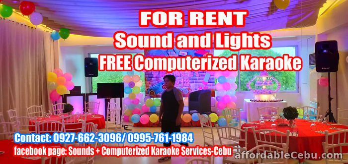 2nd picture of Sound System For Rent Cebu City For Rent in Cebu, Philippines