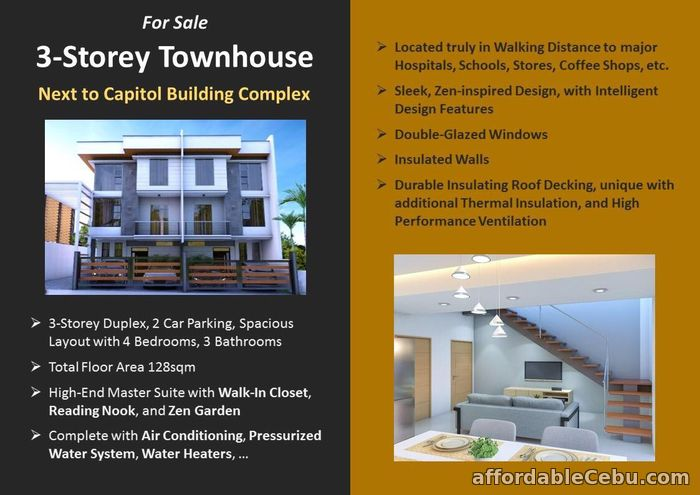 2nd picture of Brand new House and lot for sale near Capitol Cebu For Sale in Cebu, Philippines