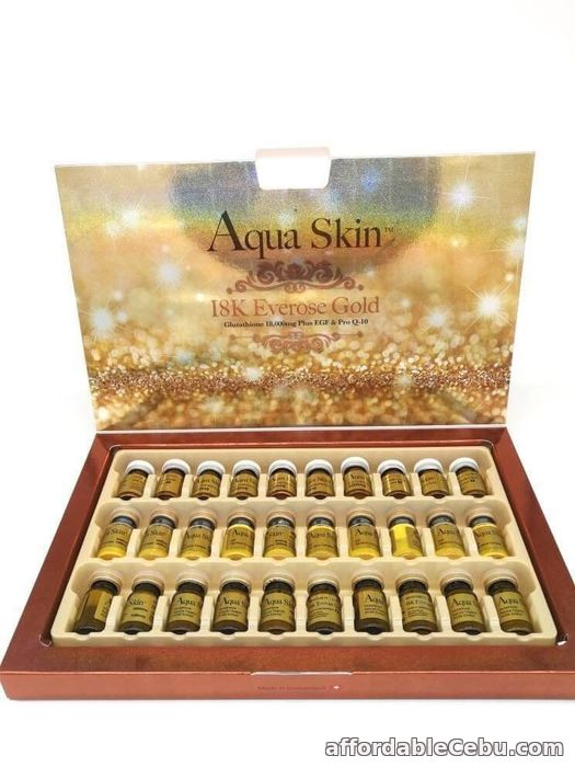 1st picture of AQUA SKIN 18K Everose Gold For Sale in Cebu, Philippines