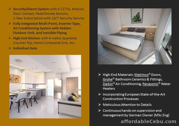 3rd picture of Brand new House and lot for sale near Capitol Cebu For Sale in Cebu, Philippines