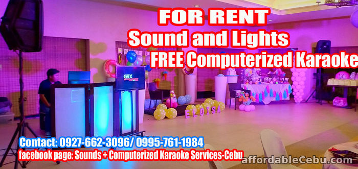 4th picture of Karaoke For Rent Cebu City For Rent in Cebu, Philippines