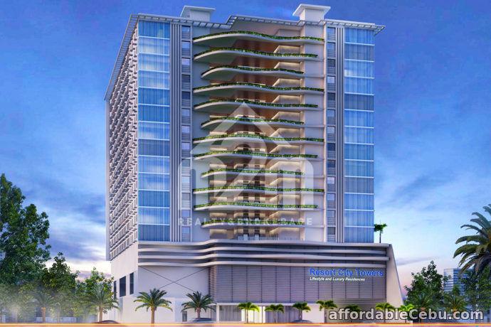 1st picture of Resort City Towers(1-BEDROOM UNIT)Gun-ob Lapu Lapu City, Cebu For Sale in Cebu, Philippines
