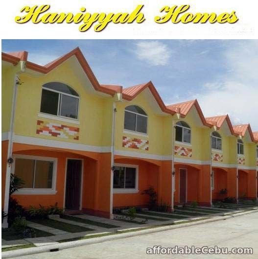 1st picture of Ready For Occupancy in Haniyyah Homes a Two Storey Townhouse For Sale in Cebu, Philippines