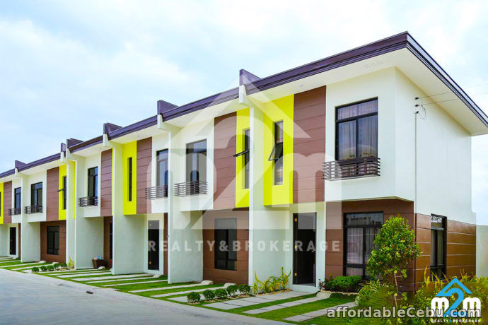 1st picture of Ready For Occupancy a Two Storey Townhouse in Evissa Subdivision For Sale in Cebu, Philippines