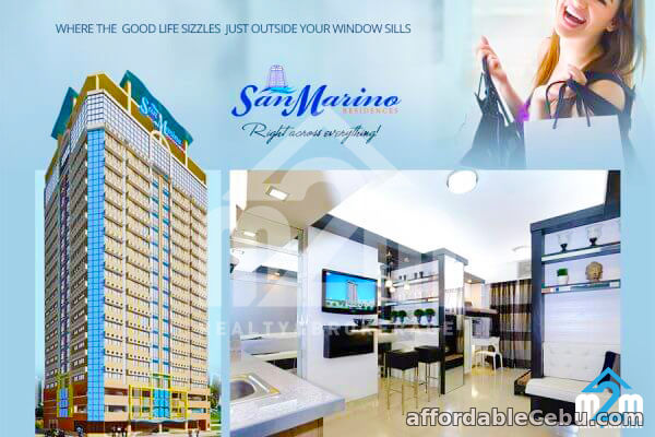 1st picture of Grand San Marino(1-Bedroom Unit) NRA, Cebu City, Philippines For Sale in Cebu, Philippines