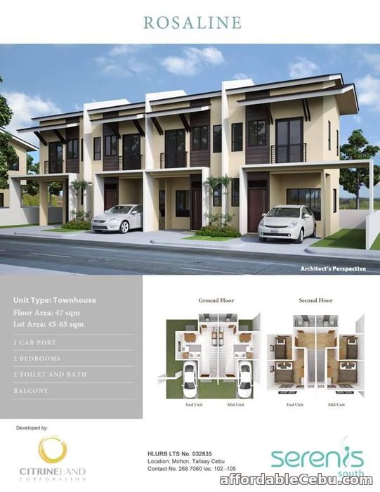 1st picture of Pre selling house and lot for sale in Talisay For Sale in Cebu, Philippines