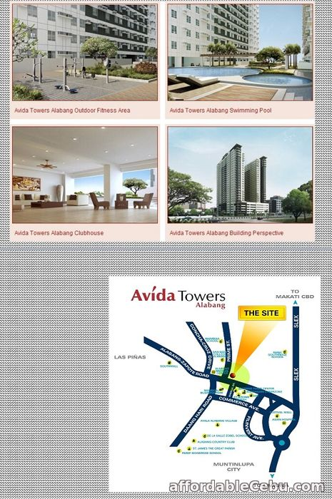 2nd picture of For Sale Avida Towers Alabang Tower 2 For Sale in Cebu, Philippines