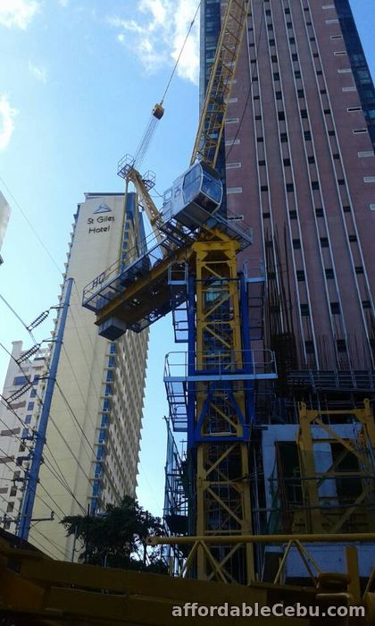 2nd picture of HQC Tower Crane(Sales & Rental) For Sale in Cebu, Philippines
