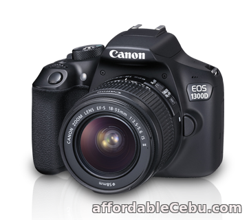 1st picture of Selling this EOS CANON 1300D in Cebu City For Sale in Cebu, Philippines