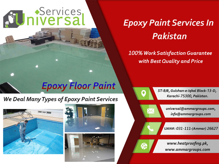 1st picture of Epoxy Paint Coating Services in karachi, Pakistan Offer in Cebu, Philippines