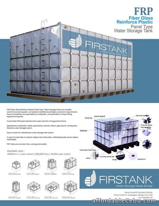 4th picture of Water Tank Manufacturer For Sale in Cebu, Philippines