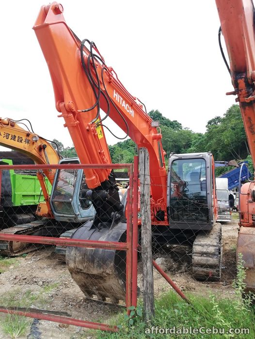 1st picture of Backhoe Excavator Hitachi ZX135USK with Breaker Line Sheet Pile Line For Sale in Cebu, Philippines