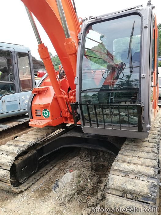 4th picture of Backhoe Excavator Hitachi ZX135USK with Breaker Line Sheet Pile Line For Sale in Cebu, Philippines