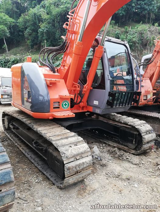 2nd picture of Backhoe Excavator Hitachi ZX135USK with Breaker Line Sheet Pile Line For Sale in Cebu, Philippines