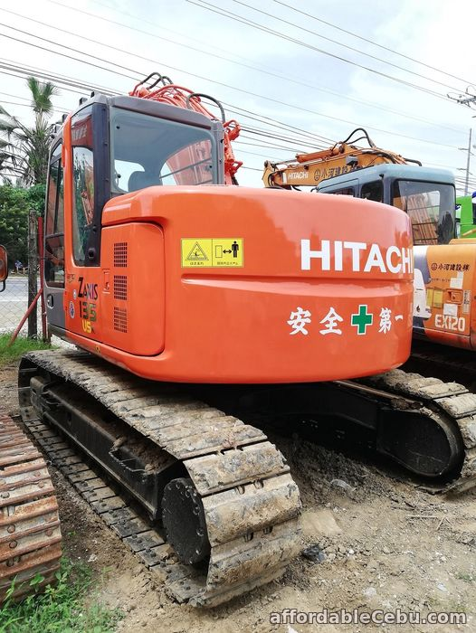 5th picture of Backhoe Excavator Hitachi ZX135USK with Breaker Line Sheet Pile Line For Sale in Cebu, Philippines