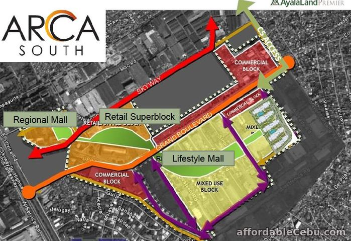 3rd picture of Arca South Commercial Property For Sale in Cebu, Philippines