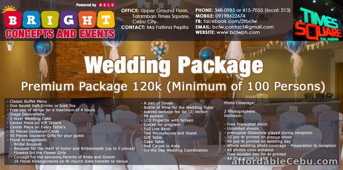 2nd picture of WEDDING PACKAGES Offer in Cebu, Philippines