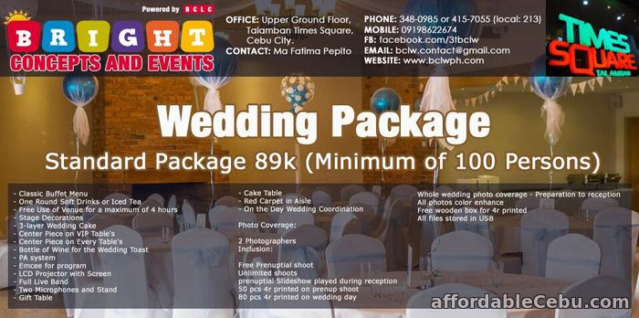 1st picture of WEDDING PACKAGES Offer in Cebu, Philippines