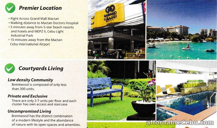 2nd picture of FREE PARKING condo for sale at brentwood mactan cebu For Sale in Cebu, Philippines