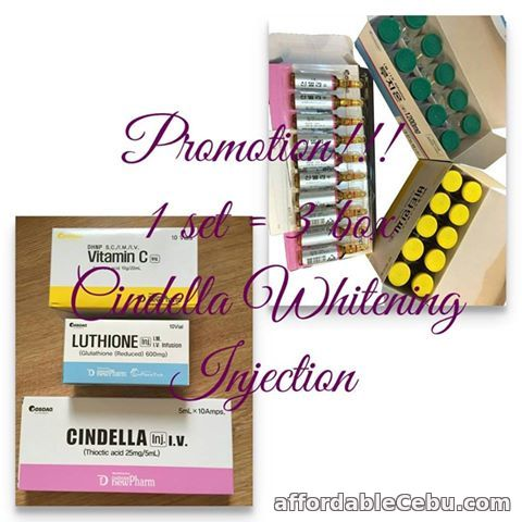 1st picture of cindella 1200mg from korea For Sale in Cebu, Philippines