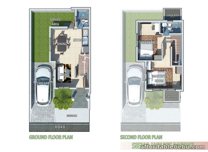 4th picture of House for sale Siena Series at St. Francis Hills Subdivision For Sale in Cebu, Philippines