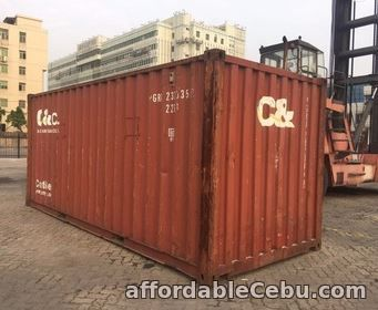 1st picture of Container Van 20ft and 40ft in the Philippines For Sale in Cebu, Philippines