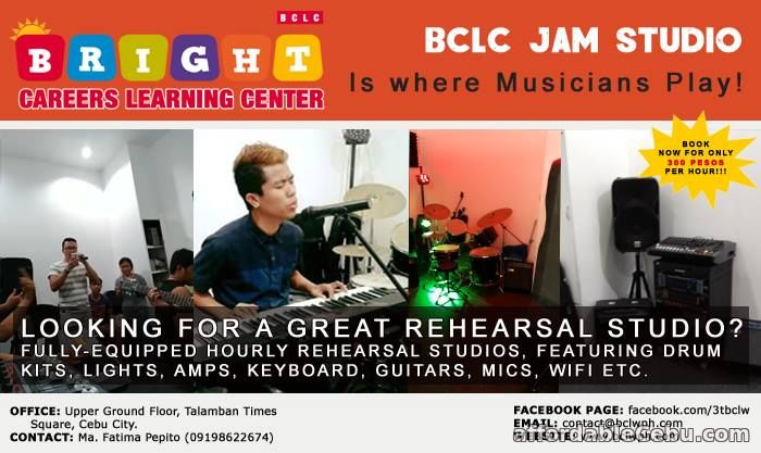 1st picture of BAND REHEARSALS STUDIO Offer in Cebu, Philippines