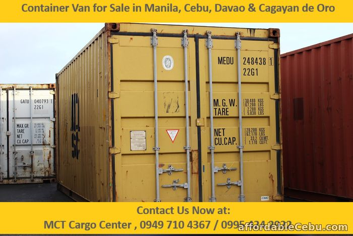 1st picture of Container Van for Sale-Good for Stock Storage For Sale in Cebu, Philippines