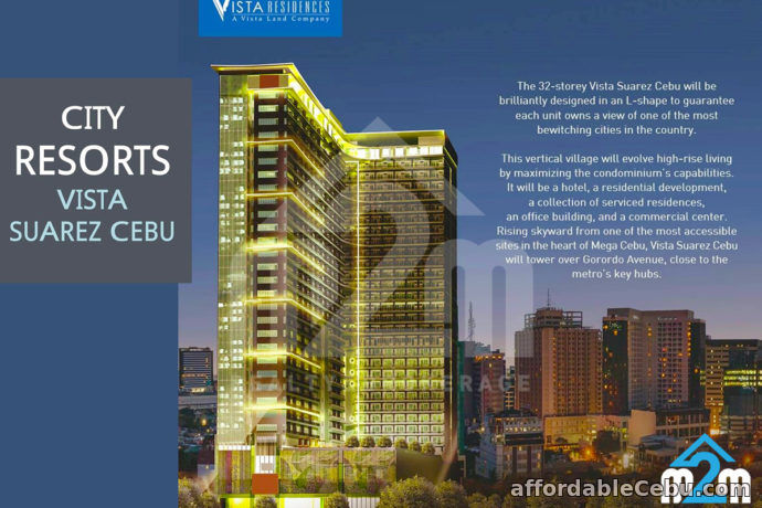 1st picture of Vista Suarez Cebu(STUDIO UNIT) Gorordo Avenue Cor. N. Escario St. Cebu City For Sale in Cebu, Philippines
