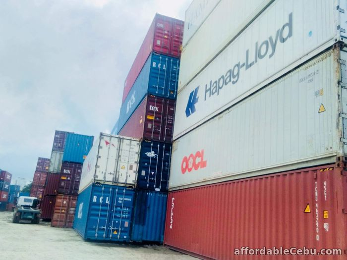 1st picture of PRICE DROP ! CONTAINER VAN FOR SALE For Sale in Cebu, Philippines