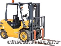1st picture of Forklift Rental For Rent in Cebu, Philippines