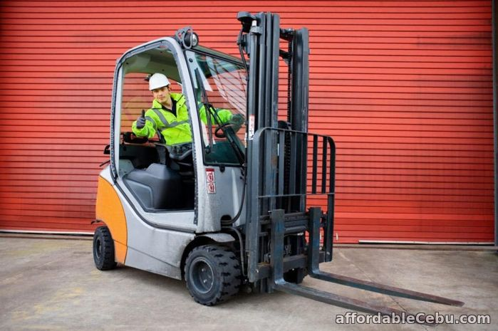 1st picture of Forklift for rent For Rent in Cebu, Philippines