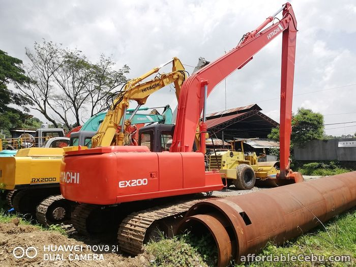 4th picture of Backhoe Excavator Long Reach Arm Hitachi EX200-3M For Sale in Cebu, Philippines