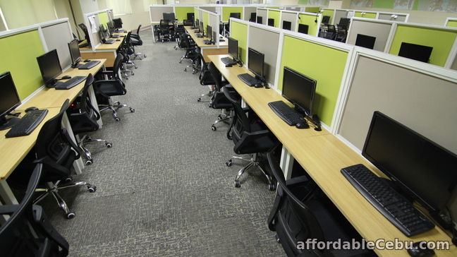 4th picture of Seat Leasing - Bigger workplace in less price! For Rent in Cebu, Philippines