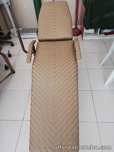 4th picture of Check up bed (Rattan with metal frame) For Sale in Cebu, Philippines