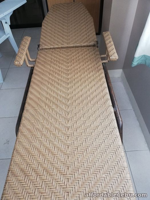 2nd picture of Check up bed (Rattan with metal frame) For Sale in Cebu, Philippines