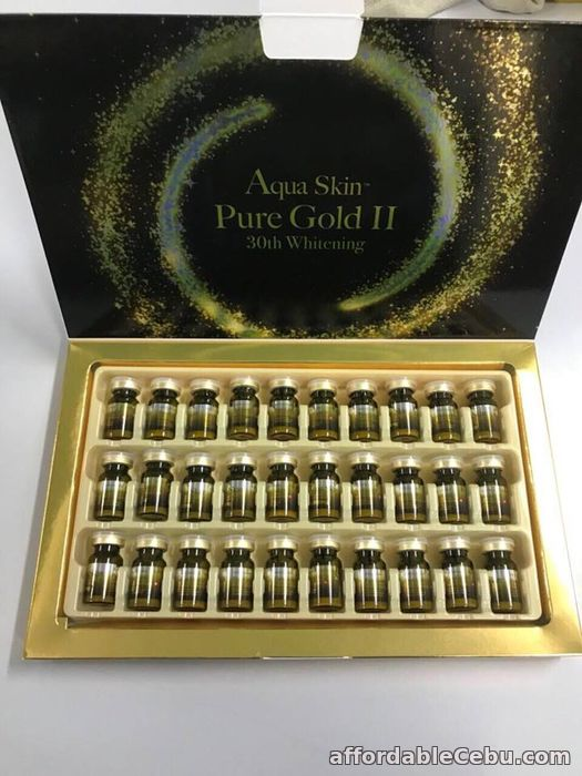 1st picture of aqua skin pure gold II 30th whitening For Sale in Cebu, Philippines