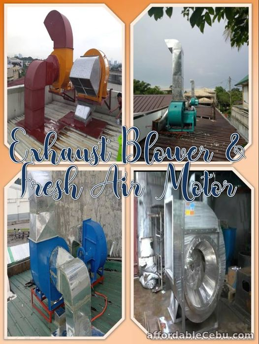 1st picture of Exhaust Blower and Fresh air system installation Offer in Cebu, Philippines