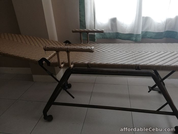3rd picture of Check up bed (Rattan with metal frame) For Sale in Cebu, Philippines